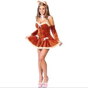 🐻Cute teddy cosplay/ Halloween costume (5 pc)